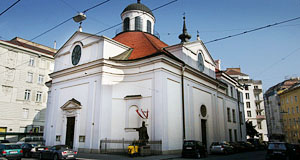 The Gardekirche is populated by Polish who live in Vienna