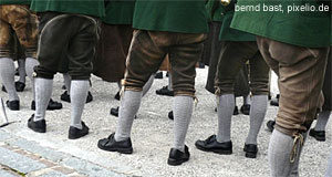 Unique about Austria? Not really - Lederhosen are also worn in Germany, Switzerland and Northern Italy