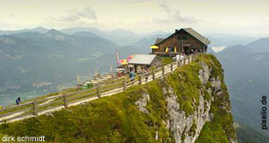The Scenic Summit of Mount Schafberg: Final Destination of the Schafbergbahn