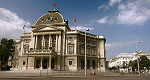 One of the biggest theatres in the German-speaking world - the Volkstheater of Vienna