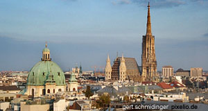 Vienna, Vienna, capital of Austria, pearl of Central Europe, suburb of Salzburg!