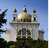 The Kirche am Steinhof by Otto Wagner is the most important Art Nouveau church of Vienna