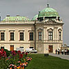 Belvedere Palace in August