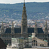 A view on Vienna from the Stephansdom Cathedral
